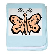 Butterfly203 baby blanket