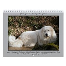 Great Pyrenees Wall Calendar 2015 - Berger....