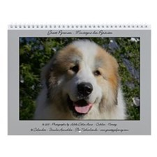 Great Pyrenees Cubilon Wall Calendar