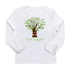 Tree Hugger Long Sleeve Infant T-Shirt