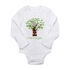 Tree Hugger Long Sleeve Infant Bodysuit