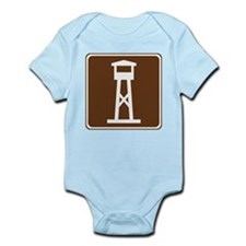 Lookout Tower Sign Infant Bodysuit