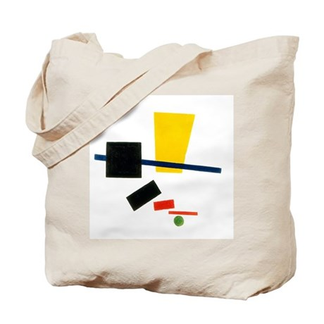 Double sided &quot;Malevich&quot; bag