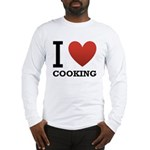I Love Cooking Long Sleeve T-Shirt