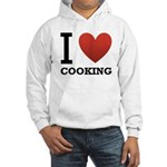 I Love Cooking Hooded Sweatshirt