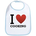 I Love Cooking Bib