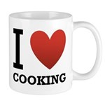 I Love Cooking Mug