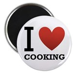 I Love Cooking Magnet