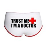 Trust Me I'm a Doctor Women's Boy Brief