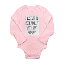 Unique Rockabilly Long Sleeve Infant Bodysuit
