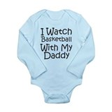 Watch Basketball With Daddy Long Sleeve Infant Bod