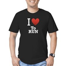 I Love to Run T