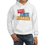 Free Julian Assange Jumper Hoody