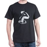 chromesk8er Black T-Shirt