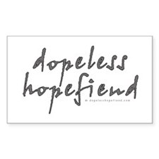 Dopeless Hopefiend Rectangle Decal