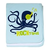 Rocktopus Octopus baby blanket