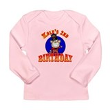 Kole's 2nd Birthday II Long Sleeve Infant T-Shirt