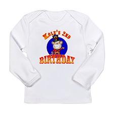 Kole's 2nd Birthday II Long Sleeve Infant T-Shirt