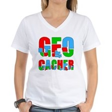 Patchwork Geocacher Shirt