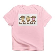 Hear See Speak No Evil Monkey Infant T-Shirt