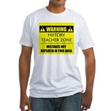 WARNING: History Teacher Shirt