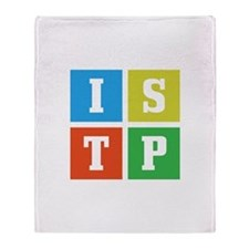Myers-Briggs ISTP Throw Blanket