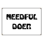 Needful Doer Banner