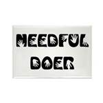 Needful Doer Rectangle Magnet (10 pack)