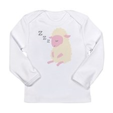 ZZZ Sleepy Sheep Long Sleeve Infant T-Shirt