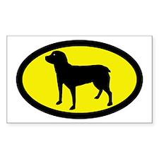 Entlebucher Sennenhund Rectangle Decal