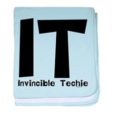 Invincible Techie baby blanket