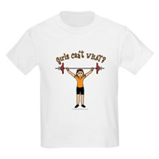 Light Girl Weightlifting T-Shirt