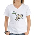 Winter Dreaming Women's V-Neck T-Shirt