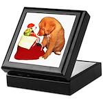 Toller Christmas Keepsake Box
