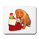 Toller Christmas Mousepad