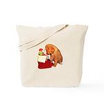 Toller Christmas Tote Bag