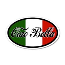 Ciao Bella 20x12 Oval Wall Peel