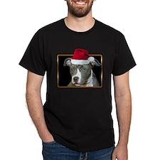 Christmas Pitbull Pup T-Shirt