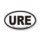 Uwharrie National Forest URE Euro Wall Decal