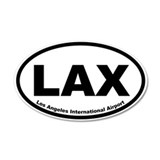 Los Angeles International Airport Wall Decal