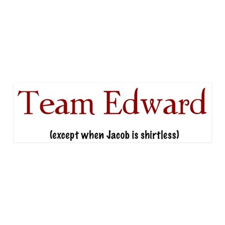 Team Edward (except...) 20x6 Wall Peel