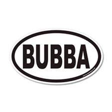 BUBBA Euro 35x21 Oval Wall Peel