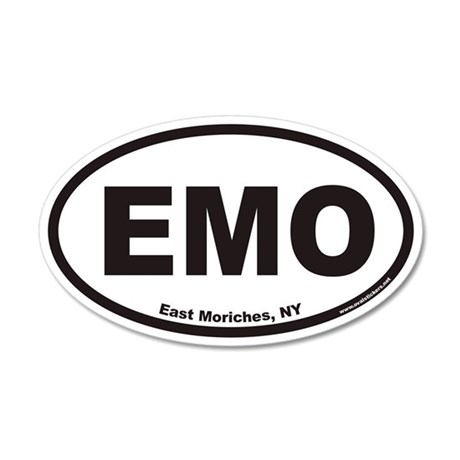 East Moriches EMO Euro 20x12 Oval Wall Peel
