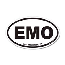 East Moriches EMO Euro 35x21 Oval Wall Peel