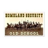 HOMELAND SECURITY - OLD SCHOOL Sticker (Rectangula