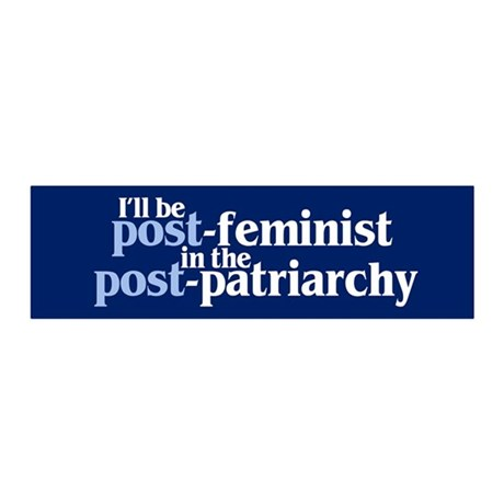 POST-FEMINIST 20x6 Wall Peel