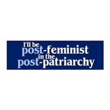 POST-FEMINIST 36x11 Wall Peel