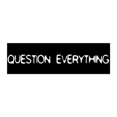 Question Everything 36x11 Wall Peel