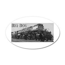 Big Boy 35x21 Oval Wall Peel