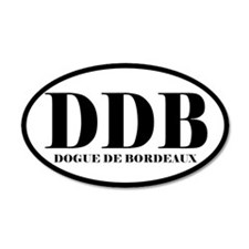 DDB Abbreviation Dog de Bordeaux Sticker